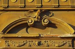 Detalle arquitectónico con el águila Fotos de archivo libres de regalías