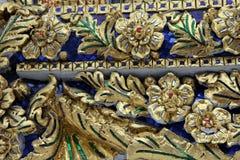 Detalle arquitectónico de Bangkok del palacio magnífico Imagen de archivo