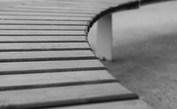 Detalle arquitectónico de la curva abstracta Imagen de archivo libre de regalías