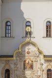 Detalle arquitectónico de la entrada en la iglesia. Imágenes de archivo libres de regalías