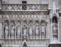 Detalle arquitectónico de la iglesia Fotografía de archivo