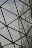 Detalle arquitectónico de la techumbre de Milano Fiera Fotografía de archivo