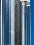 Detalle arquitectónico de un edificio del negocio en Francfort, Alemania imágenes de archivo libres de regalías