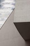 Detalle arquitectónico de un edificio moderno imágenes de archivo libres de regalías