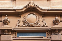 Detalle arquitectónico del edificio viejo Fotografía de archivo