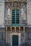 Detalle arquitectónico del monasterio benedictino, Catania Imágenes de archivo libres de regalías