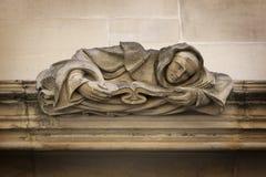Detalle arquitectónico del Tribunal Supremo Westminster, Parliament Square, Londres, Inglaterra, el 15 de julio imagenes de archivo