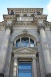 Detalle arquitectónico - edificio del estado de Berlín. Imagenes de archivo