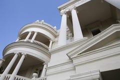 Detalle arquitectónico en Charleston, SC Foto de archivo