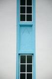 Detalle arquitectónico en Masjid Jamek Dato Bentara Luar en Batu Pahat, Johor, Malasia Imágenes de archivo libres de regalías