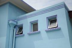 Detalle arquitectónico en Masjid Jamek Dato Bentara Luar en Batu Pahat, Johor, Malasia fotos de archivo libres de regalías
