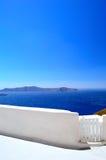 Detalle arquitectónico en Santorini Fotografía de archivo libre de regalías