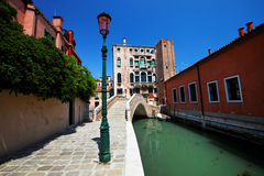 Detalle arquitectónico en Venecia imágenes de archivo libres de regalías