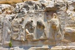 Detalle arquitectónico, lado, Turquía Fotografía de archivo libre de regalías