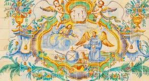 Detalle arquitectónico religioso Imagen de archivo