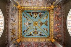 Detalle arquitectónico en Patuxai, Victory Gate Fotografía de archivo libre de regalías