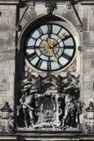 Detalle ayuntamiento Liberec Fotografía de archivo libre de regalías