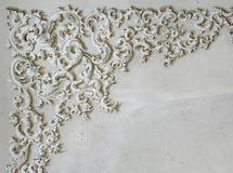 Detalle barroco del ornamento Foto de archivo