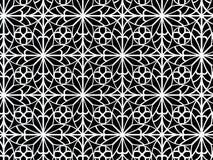 detalle blanco y negro ornamental 3d Imagen de archivo
