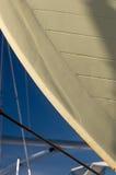 Detalle, casco del barco, muelle seco Fotografía de archivo