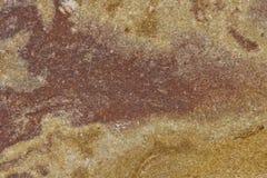 Detalle cerrado de la piedra del granate Fotografía de archivo libre de regalías
