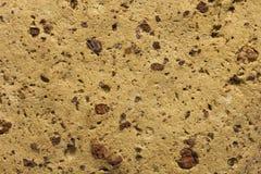 Detalle cerrado del ladrillo del fango Fotografía de archivo libre de regalías