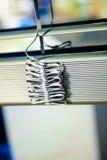 Detalle ciego del clos-up de ventana para la decoración Imágenes de archivo libres de regalías