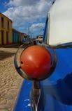 Detalle clásico del coche en Trinidad, Cuba Imagen de archivo libre de regalías