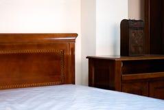Detalle clásico del dormitorio fotografía de archivo libre de regalías