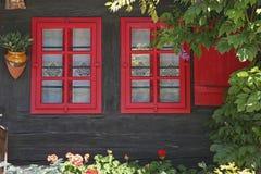 Detalle colorido de la casa Foto de archivo