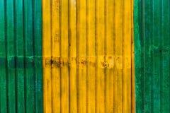 Detalle colorido galvanizado de la hoja de metal Imágenes de archivo libres de regalías