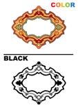 Detalle colorido ornamental islámico del diseño de la textura decorativa árabe del arabesque del ejemplo del mosaico geométrico stock de ilustración