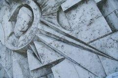 Detalle comunista del arte abstracto imagenes de archivo