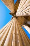 Detalle con las columnas del panteón en París Fotografía de archivo