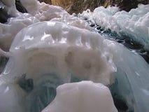 Detalle congelado de las caídas Imagenes de archivo