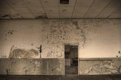 Detalle constructivo abandonado Foto de archivo