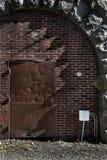 Detalle de acero del horno Foto de archivo libre de regalías