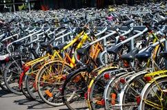 Detalle de bicicletas imagen de archivo libre de regalías