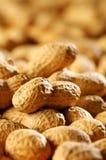 Detalle de cacahuetes Imágenes de archivo libres de regalías