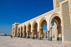Detalle de Casablanca de la mezquita de Hassan II Imagen de archivo