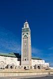 Detalle de Casablanca de la mezquita de Hassan II fotos de archivo libres de regalías