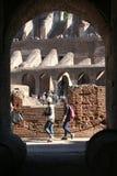 Detalle de Colosseum imagenes de archivo