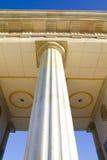 Detalle de columnas clásicas Imágenes de archivo libres de regalías