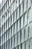 Detalle de cristal del diseño del edificio Fotos de archivo