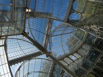 Detalle de cristal del palacio Imagenes de archivo