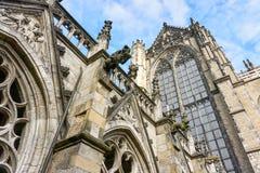 Detalle de Dom Church en Utrecht, el Netherland Imagen de archivo libre de regalías