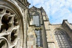 Detalle de Dom Church en Utrecht, el Netherland Imágenes de archivo libres de regalías