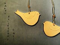Detalle de dos pájaros Foto de archivo