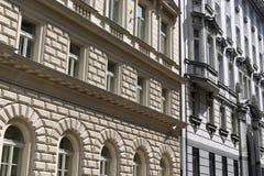 Detalle de edificios Imágenes de archivo libres de regalías