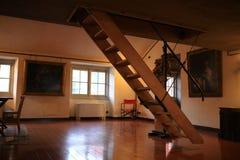 Detalle de escaleras imagen de archivo